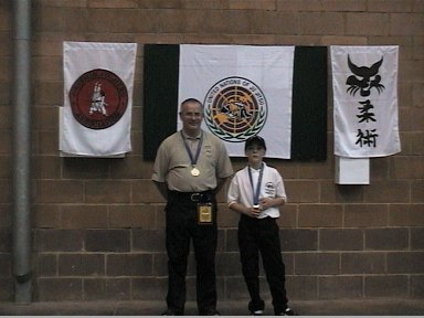 Sensei John Hunt & Gary Johnson - Gold Medal Winners