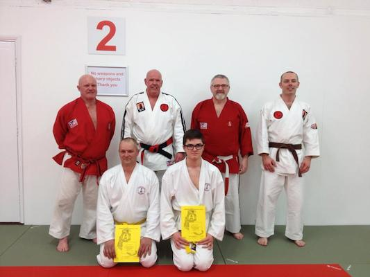 Hanshi Brain Herbert with Sensei Quint Smith & Sensei Chris Shepperd