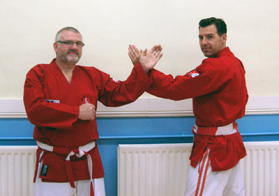 Sensei Graham Sargeant & Sensei Chris Shepperd
