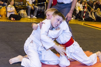 Brothers Lewis & Ben Mays compete in Groundfighting for Gold & Silver