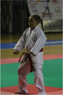 2016 Euro Budo Random Attacks Team - Medal Winner Olivia Pasquale