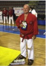Hanshi Brian Herbert Receives 9th Dan Grade at Euro Budo Random Attacks Italy 2016
