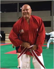 Hanshi Herbert awarded 9th Dan