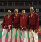 Hanshi Brian Herbert Receives 9th Dan Grade at Euro Budo Random Attacks Italy 2016 Technical Commitee