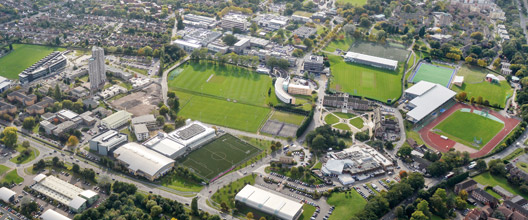 Loughborough University Campus - Aerial