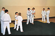 Children Training In Ju Jitsu