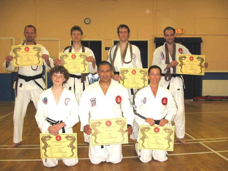 Successful Dan Grade Candidates - Jikishin Ju Jitsu Association