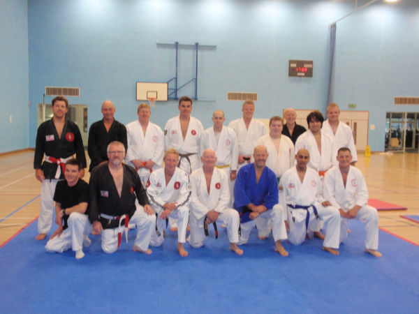 Sensei Earl Walker runs National Groundfighting & Sparring Course