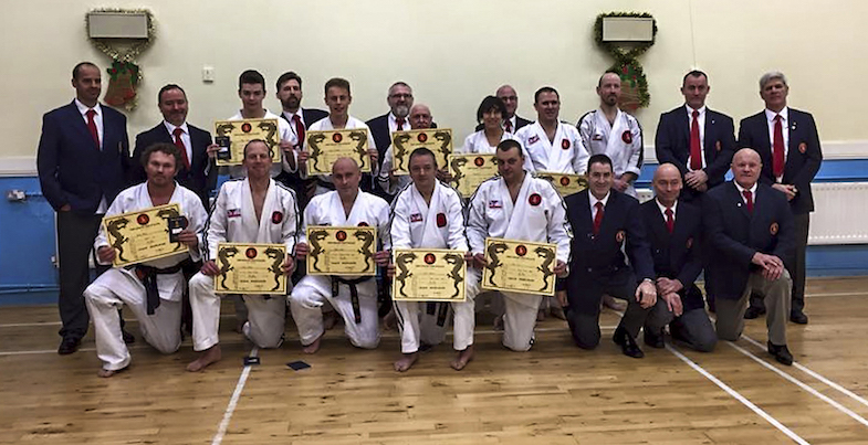 Jikishin Ju Jitsu Dan Gradings 6th December 2015