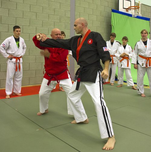 Hanshi Brian Herbert - Head of Jikishin at the National Course & Competition 2013